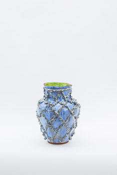 JUDY LEDGERWOOD, MAJOLICA-PIECE @ HäUSLER CONTEMPORARY